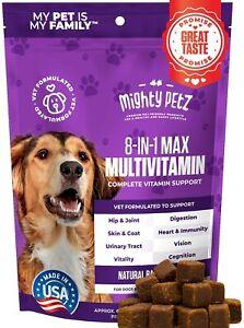 Dog Multivitamin + Probiotics + Glucosamine Chondroitin + Fish Oil + 15 More 60c