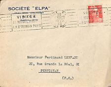 "NICE ENVELOPPE "" STE ELPA "" 1948"