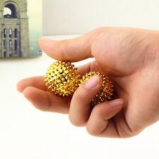 2pcs Magnetic Acupressure Treatment Hand Palm Stimulation Needle Massage Ball