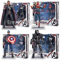 The Avengers 4 Endgame 7'' Captain America Marvel Thor War Machine Action Figure