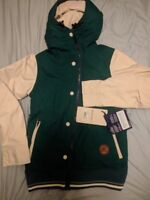 $300 WOMEN  HOLDEN RYDELL Varsity Ski Snowboard Snow JACKET Burton Roxy Winter L