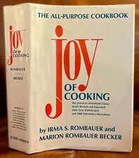 The Joy of Cooking, by Irma S. Rombauer & Marion Rombauer Becker ~ 1975 Edition