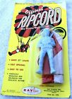Official Ripcord Sky Diving Parachutist Carded Toy, by Ray Line Product