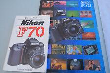 Nikon F70 Prospekt + Lern/Hand Buch