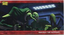 Star Wars Clone Wars Widevision Silver Stamped Parallel Base Card [500] #18