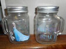 Disneys Frozen Mason Jars with Handles
