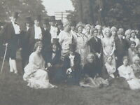Orig.1910-20s Photograph Cambridge Celebration of Historical Monical's Victorian