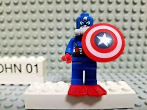 LEGO Super Heroes Avengers Captain America Minifigure Shield Scuba 76048