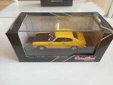 Detail Cars Ford Capri 3000 GT 1969 in Yellow on 1:43 in Box