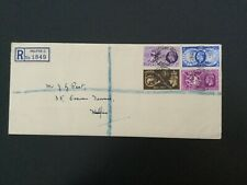 More details for gb 1949 upu fdc registered halifax postmark(f275)