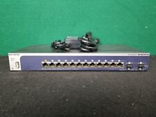 Netgear Prosafe M4100-D12G 12 Port Gigabit Managed Ethernet Switch GSM5212