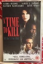 A Time To Kill VHS Video Tape Ex Rental Big Box Collectable Vintage TBLO