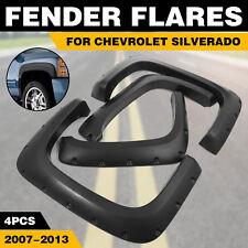 Fender Flares For Chevrolet Silverado 2007-2013 CREW CAB Flexible Std & Long Bed