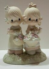 """100072 Precious Moments Figure """"To My Forever Friend"""". No box."""