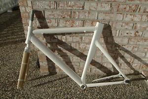 NIB Toto track/fixed gear frame&fork 56 aluminum aero tubing takes 27.2 mm post+