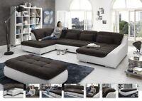 Loungesofa Wohnlandschaft Sofa Couch Ecksofa Eckcouch Plansofa Spike 3 Megapol