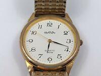 Vintage Hana Gentleman's Quartz Wrist Watch, Vintage Wrist Watch