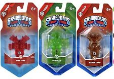 Skylanders Trap Team 3 trampas de tierra, Life & Fire Trap Nuevo ps4 WII U XBOX ONE 360