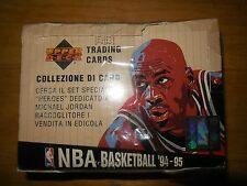 1994-95 upper deck basketball wax box
