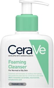 NEW CeraVe   Foaming Cleanser  236ml  Daily Face & Body Wash Authentic