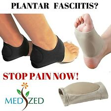 MEDIZED Plantar Fasciitis Therapy Wrap Heel Foot Pain Arch Support Ankle Brac...