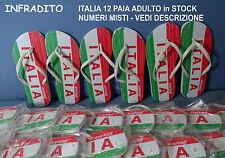 INFRADITO ITALIA 12 PEZZI IN GOMMA STOCK MARE SPIAGGIA VEDI NUMERI IN DESCR.NE