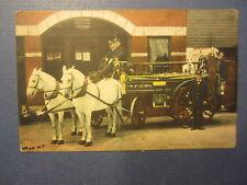 Old 1913 - WASHINGTON PA. - FIRE DEPARTMENT - POSTCARD