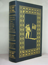 1st, signed by author, American Moonshot by Douglas Brinkley, Easton Press