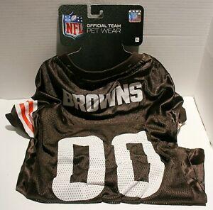 NFL Cleveland Browns Dog Lightweight Football Jersey - Extra Large