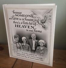 Personalised large photo album, my book of memories, In loving memory gift