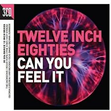 Twelve Inch 80s: Can You Feel It - 3 DISC SET - Twelve Inch 80s: (2016, CD NEUF)