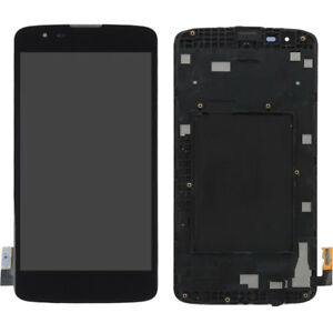 LCD Display Touch Digitizer Assembly Replacement + Frame for LG K7 LS675 MS330