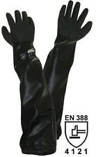 Strahler-Handschuhe ca. 70cm (Strahlmittel, Teich) Sandstrahlen, Teichpflege