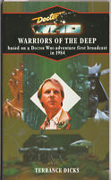 Rare: Doctor Who - Warriors of the Deep. Virgin blue spine, VGC. Target Books.