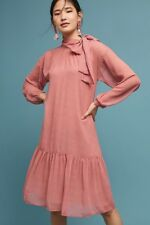 114e11a63829 NWT Anthropologie Ottod'Ame Melrose Swing Vintage Inspired Loose Dress 10