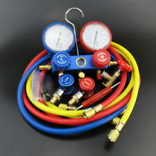 AC Refrigeration Kit A/C Manifold Gauge Set Air R12 R22 R134a 410a R404z Special
