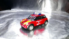 * Herpa 045889 Mini Cooper BMW Plant Fire Department Vehicle 1:87 HO Scale