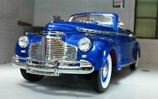 G LGB 1:24 Escala Chevrolet Especial Deluxe Cabrio 1941 Modelo Fundido Azul