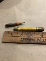 Vintage Bullet Pencil Michigan Livestock Exchange Detroit