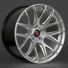 A4 Axe Wheels with Tyres
