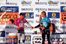 """Kelly Slater and Andy Irons at J-Bay 8x12"""" Photo by Pete Frieden"""