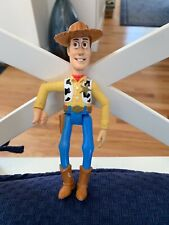 """1995 Burger King Toy Story Pals WOODY no Lasso figure only 6"""""""