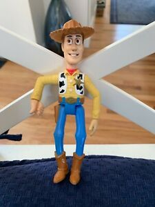 1995 Burger King Toy Story Pals WOODY no Lasso figure only 6""