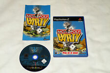 PS2 GAME MONOPOLY PARTY with Booklet (2002) (UK Pal Region 2).