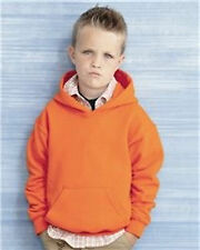 10 LOT GILDAN HOODED SWEATSHIRT CHILDRENS  (S-XL) 24 COLORS SHIPPED FREE