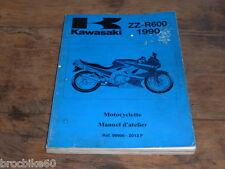 MANUEL REVUE TECHNIQUE D ATELIER KAWASAKI ZZ-R 600 1990-> ZZR600 ZZR 600ZZR