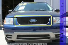 GTG 2005 - 2007 Ford Freestyle 1PC Gloss Black Upper Overlay Billet Grille Grill