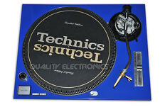 Technics FacePlate For SL1200/1210 MK5 / SL1200M3D Blue, Technics Face Plate,