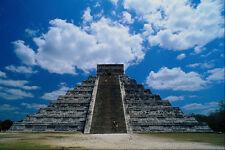 472000 Pyramid Of Kukulcan Chitzen Itza Mexico A4 Photo Print