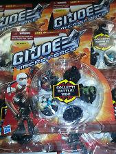 GI Joe Micro Force Starter Pack Series 1 Wave 1 - 5 Figure Random Pack!